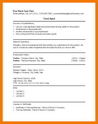 travel agent resume sample resume samples and resume help