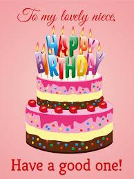 happy birthday card for niece lilbibby com
