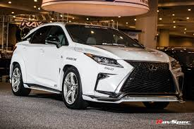 lexus is250 f sport front lip artisan spirits body kit for lexus rx f sport black line u2013 ravspec