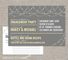 stock the bar invitations engagement stock the bar party invitation and drink recipe card