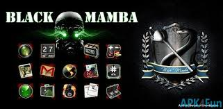 go theme launcher apk black mamba go launcher theme apk 1 0 black mamba go