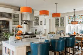 Orange And White Kitchen Ideas Kitchen Color Ideas Freshome