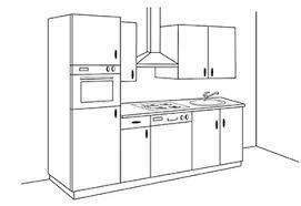 implantation type cuisine aménager sa cuisine conseils en aménagement intérieur de la maison