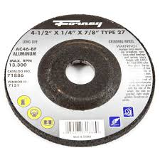 lincoln electric 5 in x 1 4 in type 27 grinding wheel kh243