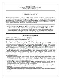 Example Of Qualifications And Skills For Resume Sample Of Qualifications In Resume Executive Assistant Resume