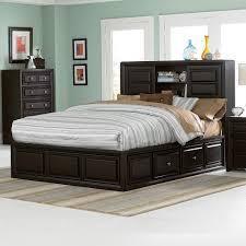 full size platform storage bed cubbies u2014 modern storage twin bed