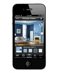 app that lets you take a photo of your room and then try paint
