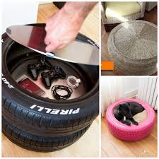 How To Use Old Tires For Decorating 17 Ways To Reuse Tires Red Ted Art U0027s Blog