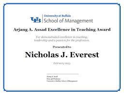 certificates of management university at buffalo