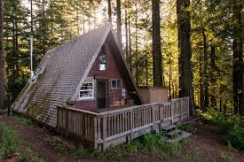 cozy a frame cabin in the redwoods houses for rent in cazadero