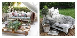 canapé exterieur en palette 50 idées originales pour fabriquer votre salon de jardin en palette