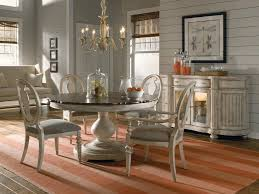 Shabby Chic Dining Table Sets Country Dining Room Ideas White Wooden Frame Glass Window And