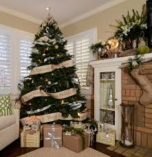 rustic luxe holiday traditional family room sacramento by