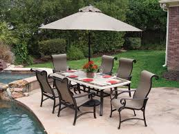 Travertine Patio Table More Carlsbad Sling Gorgeous Table Decor Pinterest
