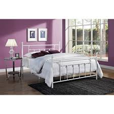 Antique White Metal Bed Frame White Metal Bed Frame Antique White Metal Bed Frame Ideas