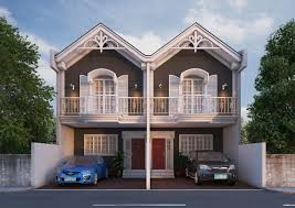 Duplex House Plans Gallery 3 5 Incredible Ideas Small Duplex House Design In The Philippines