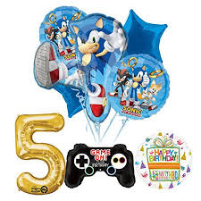 sonic party supplies the ultimate sonic the hedgehog 5th birthday party supplies