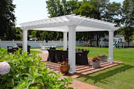 quality cedar pergola by a refreshing backyard pool in collegeville pa