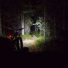 bike lights for night riding night riding light setups mtbr com