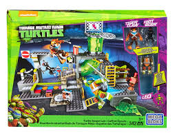 mega bloks teenage mutant ninja turtles turtle sewer lair toys