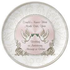 personalized wedding plate custom wedding anniversary porcelain plates