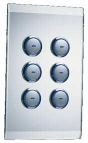 clipsal c bus home automation saturn u0026 edlt glass wall switches