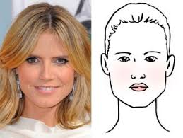 what face shape heidi klum hairstyles for face shape find what works for you