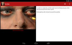 halloween makeup stickers halloween horror makeup free android apps on google play