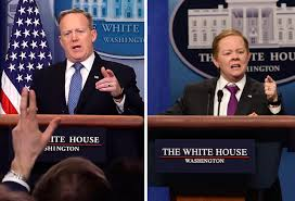 saturday night live thanksgiving skit saturday night live sean spicer melissa mccarthy video time com