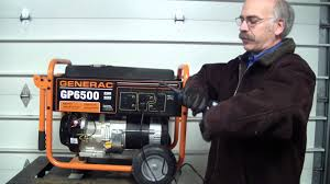 flash your generac portable generator with a corded drill youtube
