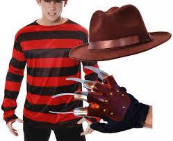 freddy krueger halloween fancy dress costume jumper hat u0026 knife