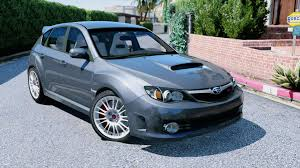 subaru wrx sport hatchback subaru impreza wrx sti gta5 mods com