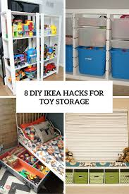 Sofa Table Ikea Hack 8 Cool Diy Ikea Hacks For Kids U0027 Toy Storage Shelterness