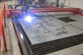 used plasma cutting table cnc plasma and waterjet cutting decca industries