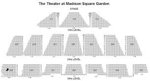 theater madison square garden detailed seating chart u2013 garden ftempo