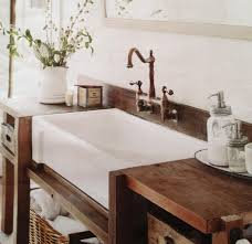 Bathroom Sink Decorating Ideas Creativity Apron Front Bathroom Sink New Shaws From 2390285319 And