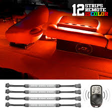 Marine Led Strip Lights by 432 Led 3 Million Color Remote Boat Accent Neon Light 12pcs Flex