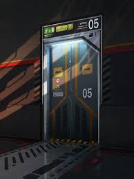 Futuristic Doors by Sci Fi Door By Artek92 On Deviantart