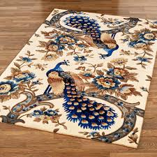 Peacock Area Rugs Majestic Peacock Vanilla Area Rugs Regarding 28 Amazing Image Of