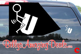 jdm sticker on car funny f u you vinyl decal bedroom wall room car window
