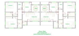 semi detached house floor plan two bedroom semi detached house floor plans ayathebook com