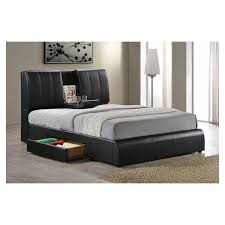 Leather Bed Frame Queen Best 25 Black Queen Headboard Ideas On Pinterest Bed Frame