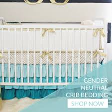 teal crib bedding set baby bedding u0026 modern crib sets caden lane