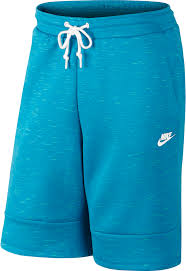 light blue nike shorts nike 628984 452 tech fleece mens shorts blue white at shoe palace