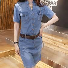 female vintage elegant denim dress u2013 cheap products village