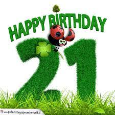 geburtstagssprüche 21 21 geburtstag als graszahl happy birthday geburtstagssprüche welt