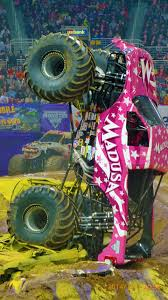 monster jam truck pictures file debrah miceli madusa monster jam truck jpg wikimedia commons