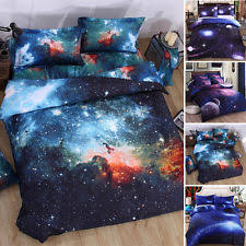 Space Single Duvet Cover Outer Space Bedding Ebay