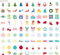 christmas infographic elements vector free download
