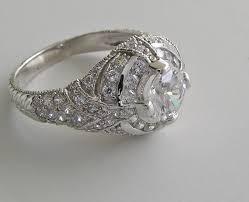 art deco style wedding rings wedding ideas
